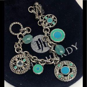 John Hardy Bulan Charm Bracelet .925